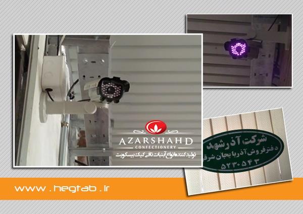 دوربین مداربسته تبریز