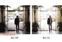 دوربین مداربسته ضد نور blc
