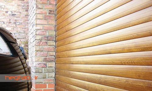 تیغه طرح چوب کرکره برقی